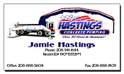 Hastings Concrete Pumping