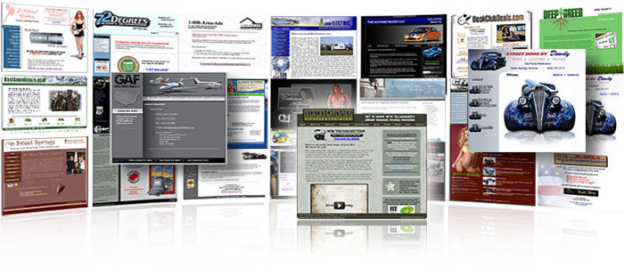 Custom built web sites at an affordable price!